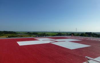 23病院棟 屋上ヘリポート