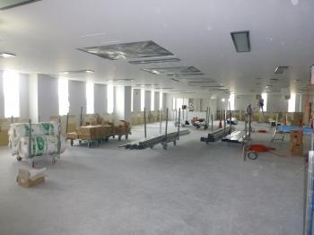 04病院棟内装施工状況(HCU)