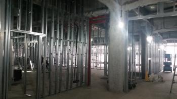05病院棟内装施工状況